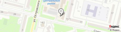 Лори на карте Сургута
