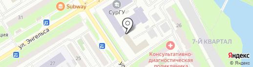 Boxberry на карте Сургута