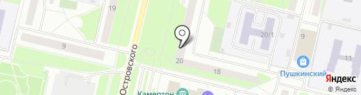 Вариант, МБУ на карте Сургута