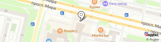 СДЭК на карте Сургута