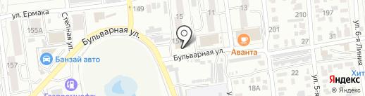 Правовая основа на карте Омска