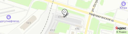 Авто-S на карте Сургута