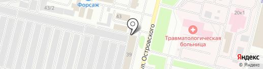 Очаг на карте Сургута