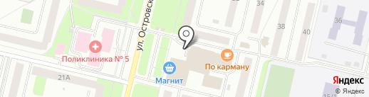 Пятерочка на карте Сургута