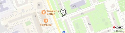 Колатан на карте Сургута