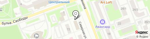 СИБИРЯК на карте Сургута