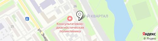 Зика на карте Сургута