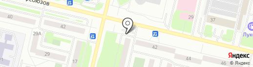 ВСК, САО на карте Сургута