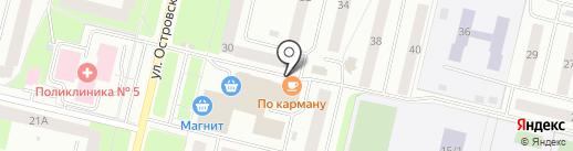 По Карману на карте Сургута