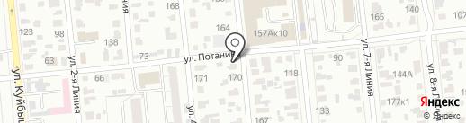 Транспортная компания на карте Омска