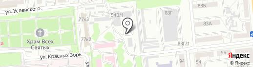 Центр обслуживания учреждений в сфере здравоохранения на карте Омска
