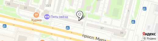 Уральский банк реконструкции и развития, ПАО на карте Сургута