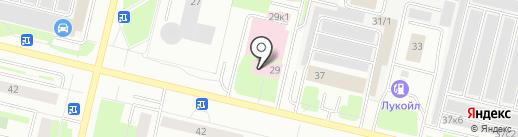 Скорая медицинская помощь на карте Сургута
