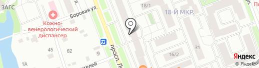 Арт-студия Кактус на карте Сургута