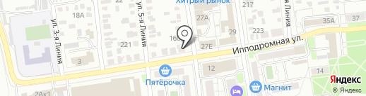 Авто Сибирь Спас на карте Омска