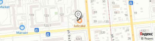 Банкомат, Альфа-банк на карте Омска