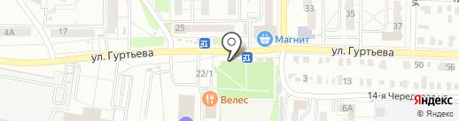 Don Doner на карте Омска