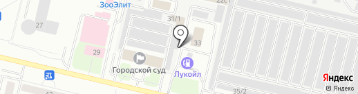 АвтоПрофессионал на карте Сургута