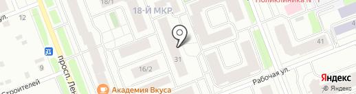 Участковый пункт полиции №6 на карте Сургута