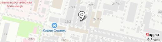 Автомойка на карте Сургута