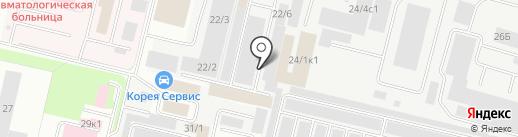 Эксперт-Сервис на карте Сургута
