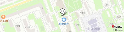 Будь здоров на карте Сургута