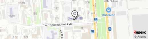 Сеть-Электро на карте Омска