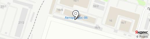 Комплект-ОКНО на карте Сургута