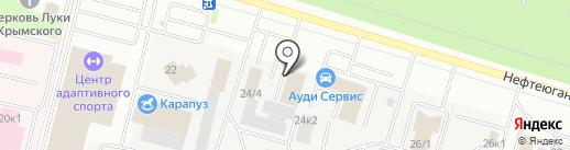 Bosch на карте Сургута