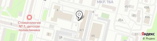 Испытательный учебно-тренировочный полигон на карте Сургута