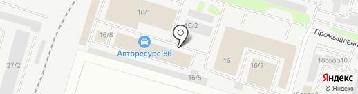Дизельсервис на карте Сургута