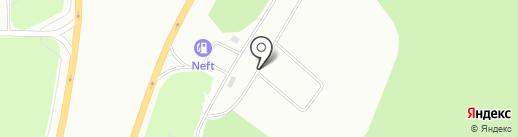 АвтоАверс на карте Сургута