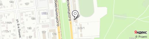 Автотехсервис на карте Омска