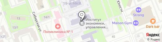 Услада на карте Сургута