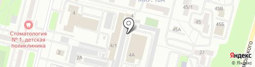 Студия авторской мебели и стекла на карте Сургута