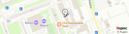 Центр подготовки к ЕГЭ на карте Сургута