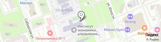 Шоколадная Свадьба на карте Сургута