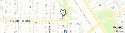 Автодизайн на карте Омска