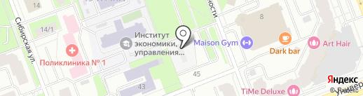 АКАДЕМИЯ НЕДВИЖИМОСТИ на карте Сургута