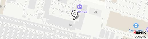 Петропарт на карте Сургута