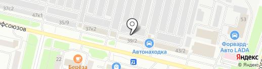MASTER-GLASS-AVTO на карте Сургута