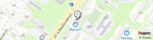 Компания по приему металлолома на карте Омска
