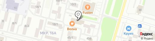 Закусочная №1 на карте Сургута