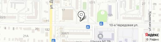 Империал на карте Омска