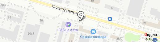 Cummins на карте Сургута