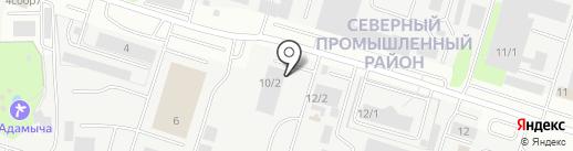 Стройконструкция на карте Сургута