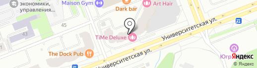 Time Deluxe на карте Сургута