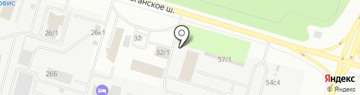 Дом дверей на карте Сургута