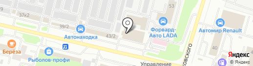 Барменская Ассоциация Югры на карте Сургута