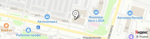 UGRA Vending на карте Сургута